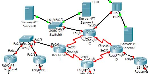 ejercicio subnetting Packet Tracer