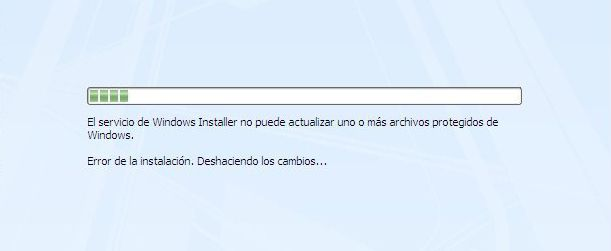 Error Windows Installer