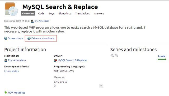 MySQL Search & Replace