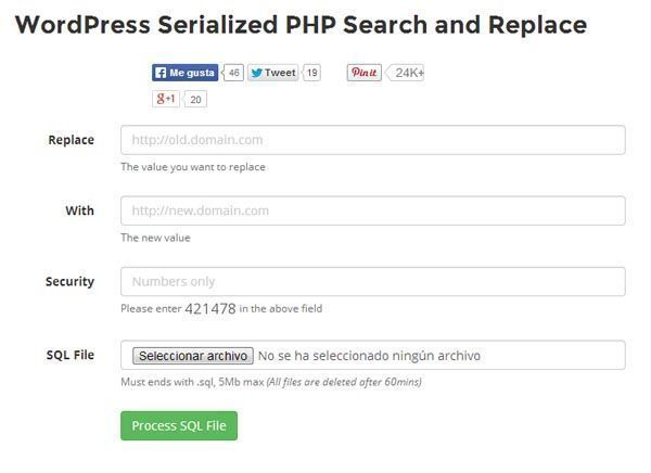 Reemplazar texto en toda la base de datos mysql | WordPress Serialized PHP Search and Replace