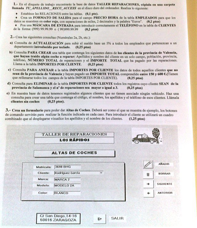 Examen 1 Office Access