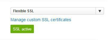Flexible SSL | Cloudfare