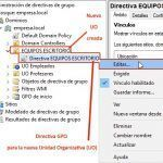 Directiva papel tapiz equipos dominio | Windows Server 2016