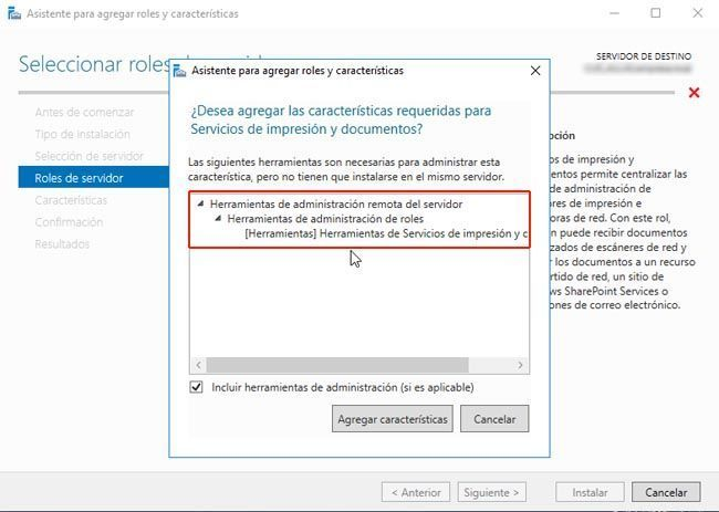 Servidor de Impresión en Windows Server 2016