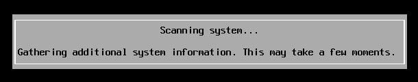 esxi scanning system gathering additional system information