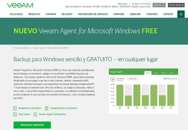 veeam backup free
