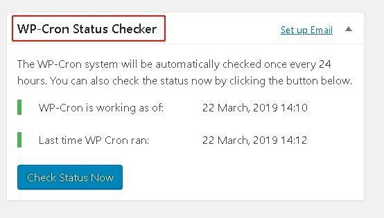 plugin wp cron status checker