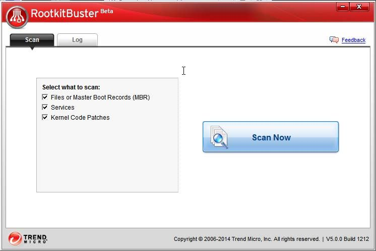 trend micro rootkit buster