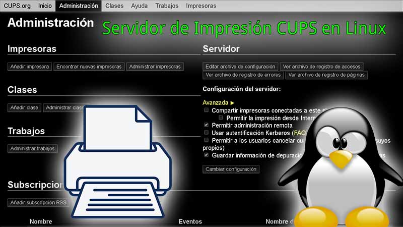 cups linux