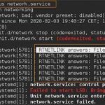 RTNETLINK answers: File exists