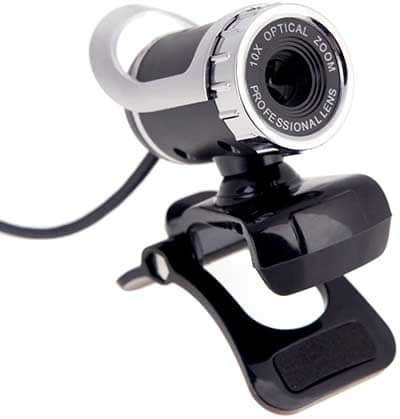 Webcam USB para Raspberry